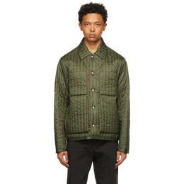 Craig Green Khaki Quilted Worker Jacket CGSS21CWOJKT01