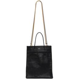 Medea Black Tall Busted Bag 21SMEBO018
