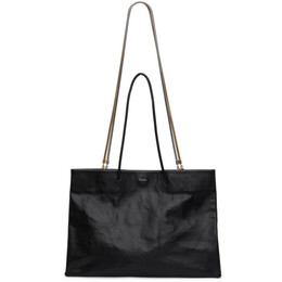 Medea Black Dieci Busted Tote Bag 21SMEBO019