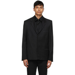 Tom Wood Black Wool Soft Blazer 21203999