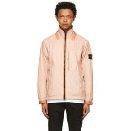 Stone Island Pink Membrana 3L TC Jacket 741540323