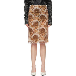 Kwaidan Editions Multicolor Floral Skirt SS21WS025W_PLM