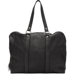 Guidi Black Small Weekender Duffle Bag GB2A