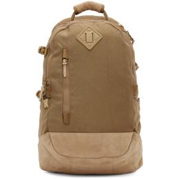 Visvim Beige Cordura 20L Backpack 0121103003045