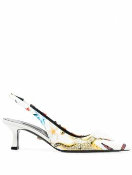 Versace 60mm starfish-print pumps DST638HDVE39