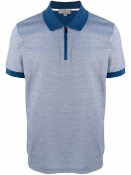 Canali рубашка поло с короткими рукавами T0559MJ00351