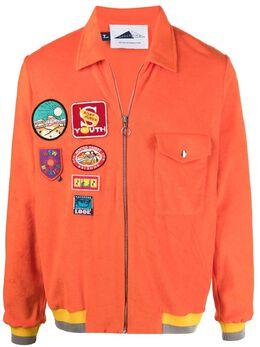Anglozine куртка с нашивками AZ2111354