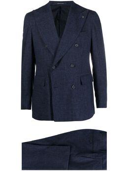 Tagliatore клетчатый костюм с двубортным пиджаком 2SVS20B1119QEZ071