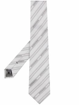 Emporio Armani галстук с логотипом 3400751P606