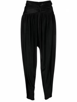 Alexandre Vauthier зауженные брюки с завышенной талией 212PA1401
