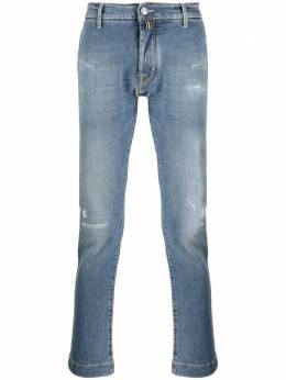 Jacob Cohen джинсы кроя слим с эффектом потертости J67601190