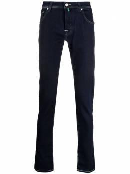Jacob Cohen прямые джинсы с контрастной строчкой J62200973