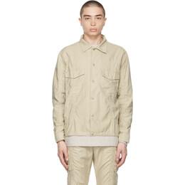 John Elliott Tan Frame Overshirt Jacket E057F6534A