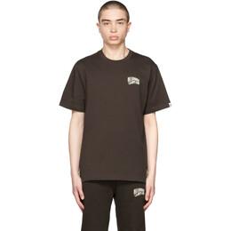 Billionaire Boys Club Brown Small Arch Logo T-Shirt BC003