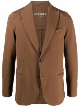 Circolo 1901 однобортный пиджак строгого кроя CN2946