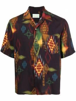 Aries рубашка с геометричным принтом SRAR40112