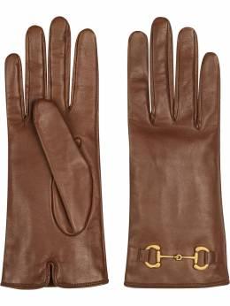 Gucci перчатки с пряжкой Horsebit 603635BAP00