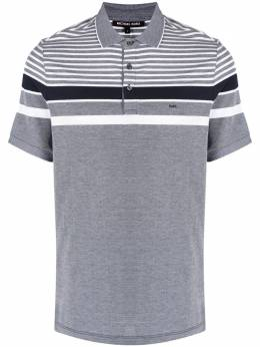 Michael Kors Collection рубашка поло с контрастными полосками CS150441RT