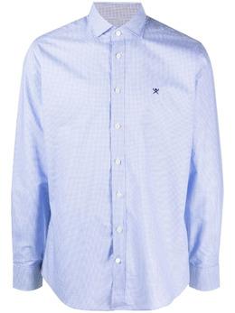 Hackett клетчатая рубашка на пуговицах HM308750