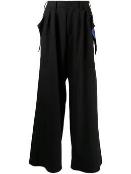 Sulvam широкие брюки с завышенной талией SNP02100