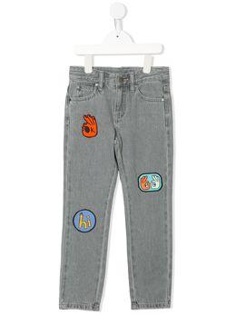 Stella McCartney Kids джинсы с нашивками 589505SOK85