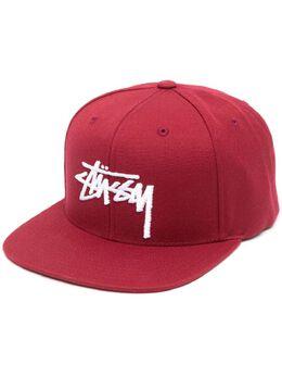 Stussy кепка с вышитым логотипом 131986