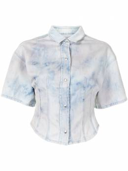Iro рубашка с принтом тай-дай WM18MALAS