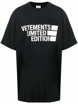 Vetements футболка с логотипом UE51TR810B