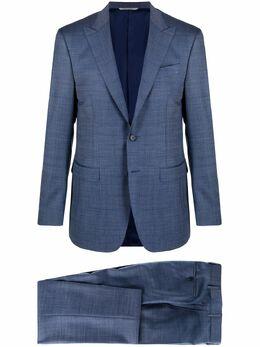 Canali строгий костюм с однобортным пиджаком AA0252419227