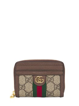Ophidia Gg Canvas Card Case Wallet Gucci 74IXHU111-ODc0NQ2