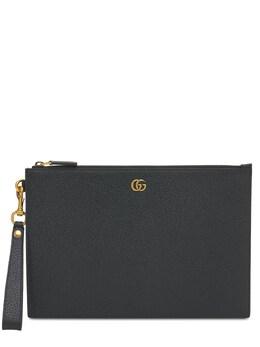 "Кожаный Клатч ""gg Marmont"" Gucci 74IGZF023-MTAwMA2"