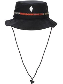 Шляпа Из Техноматериала Marcelo Burlon County Of Milan 73IIVH002-MTAwMQ2
