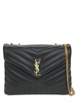 Кожаная Сумка Medium Loulou Saint Laurent 73I05L086-MTAwMA2
