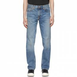 Nudie Jeans Blue Gritty Jackson Jeans 113491
