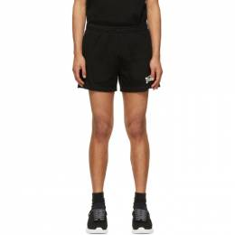 Dsquared2 Black Mesh Logo Shorts S71MU0613 S23847