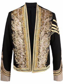 Balmain пиджак Spencer с вышивкой VH1SC010P128