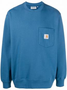 Carhartt Wip толстовка Pocket с нашивкой-логотипом I027681