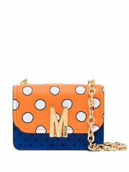 Moschino M polka-dot shoulder bag A74658022