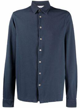 Boglioli рубашка из джерси с длинными рукавами 91450BRC709