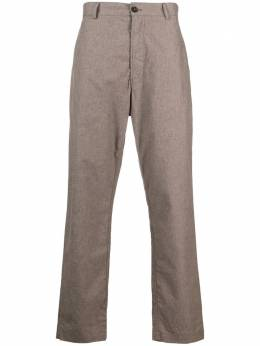 Universal Works straight-leg cotton trousers 24762WashedSuiting