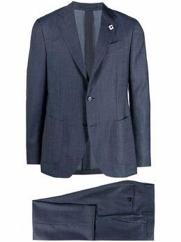 Lardini костюм-двойка с однобортным пиджаком EL030AE