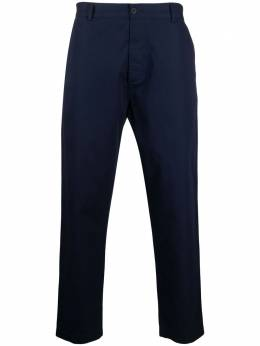Universal Works straight-leg cotton trousers 24148FineTwill