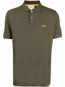 Woolrich рубашка поло с вышитым логотипом CFWOPO0027MRUT2555