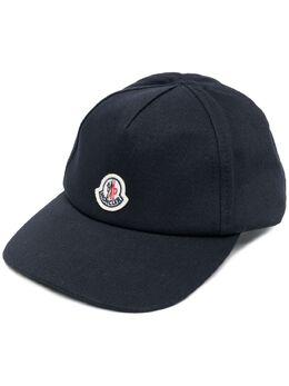 Moncler Enfant кепка с нашивкой-логотипом G19513B7080004863
