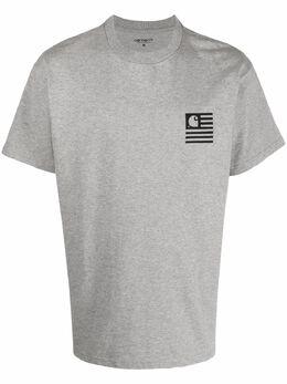 Carhartt Wip футболка Wavy State из органического хлопка I029011