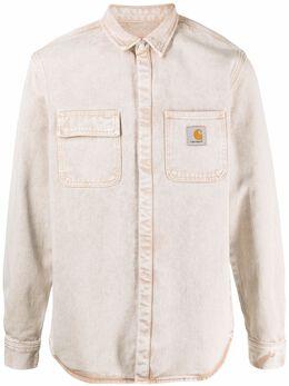Carhartt Wip рубашка с длинными рукавами и нашивкой-логотипом I02915103