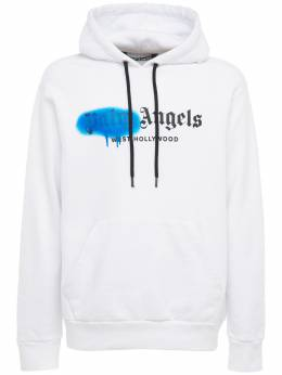 West Hollywood Spray Jersey Hoodie Palm Angels 73IJRV048-MDE2OQ2