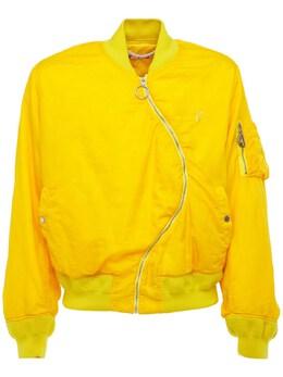 Куртка-бомбер Из Нейлона Off-White 73IJRD034-MTkwMA2