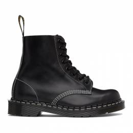 Dr. Martens Black Horween Made in England 1460 Boots 26713001