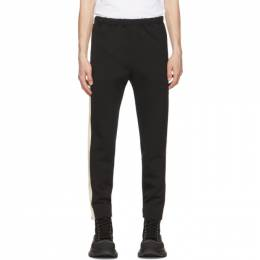 Alexander McQueen Black Zip Detail Trousers 653536QRR02
